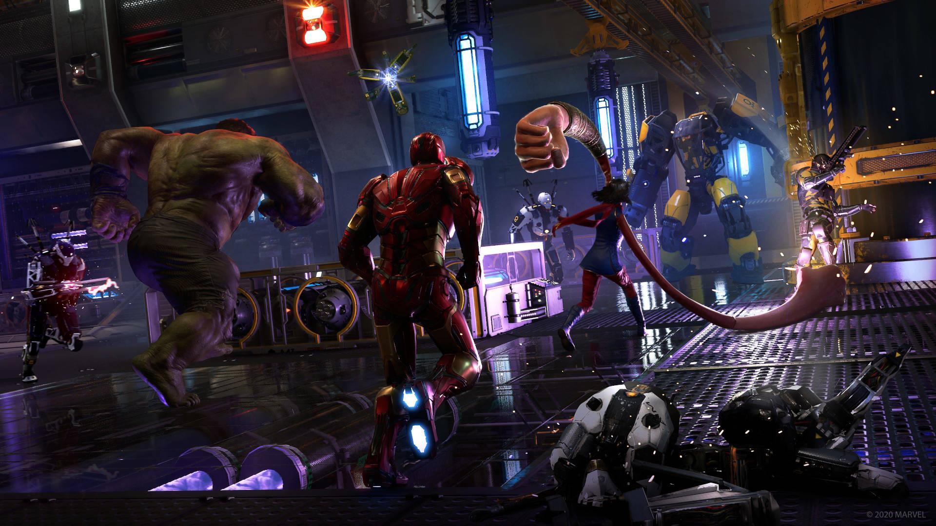 Marvels Avengers image 5