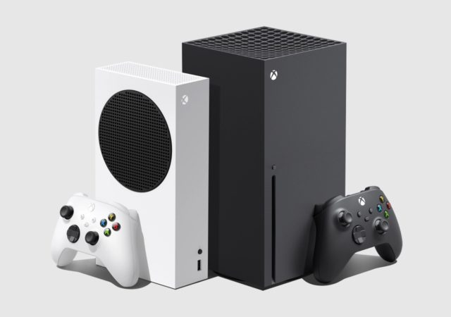Microsoft Xbox Series X|S consoles