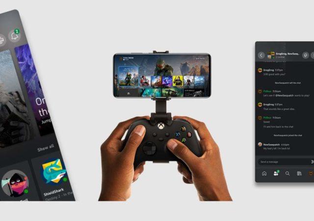 xbox app cover xcloud smartphone