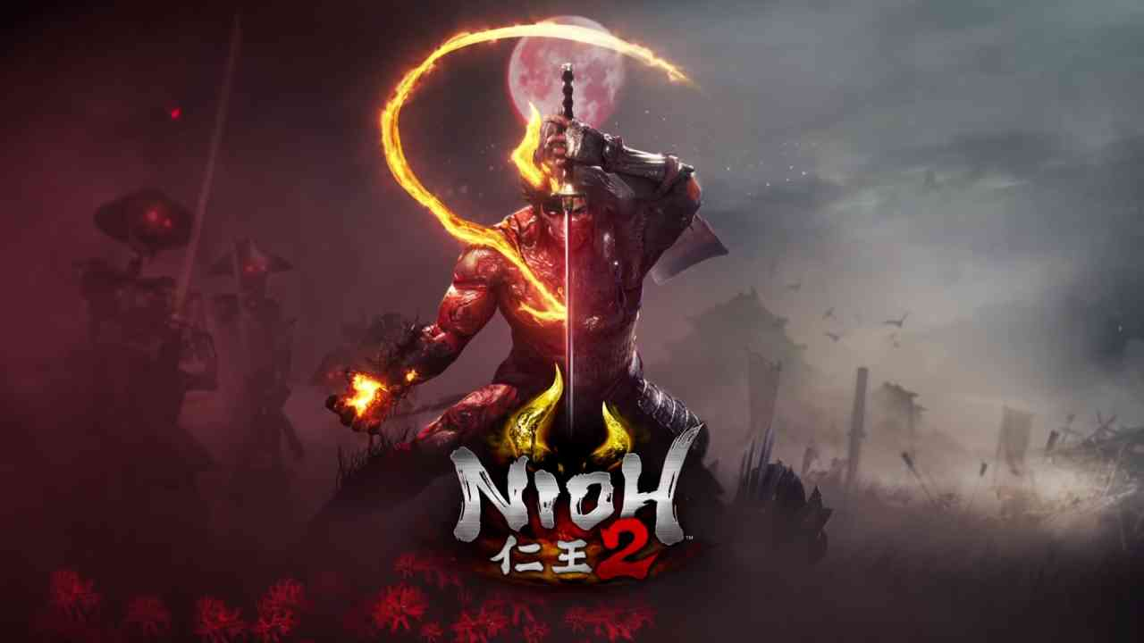 Nioh 2 cover art