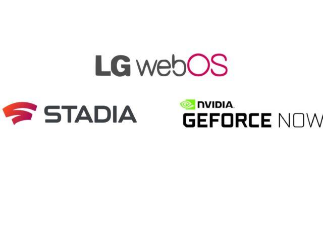 LG τηλεοράσεις και Stadia